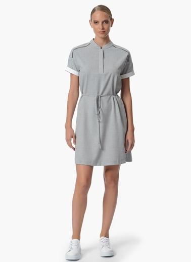 Belden Bağlamalı Kısa Elbise-Network